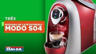 Bebidas quente a um toque com a Máquina de Café Expresso Multibebidas TRES Modo S04| Casas Bahia