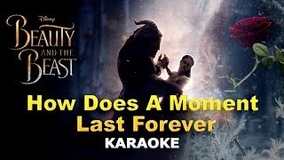 Celine Dion - How Does A Moment Last Forever LYRICS Karaoke