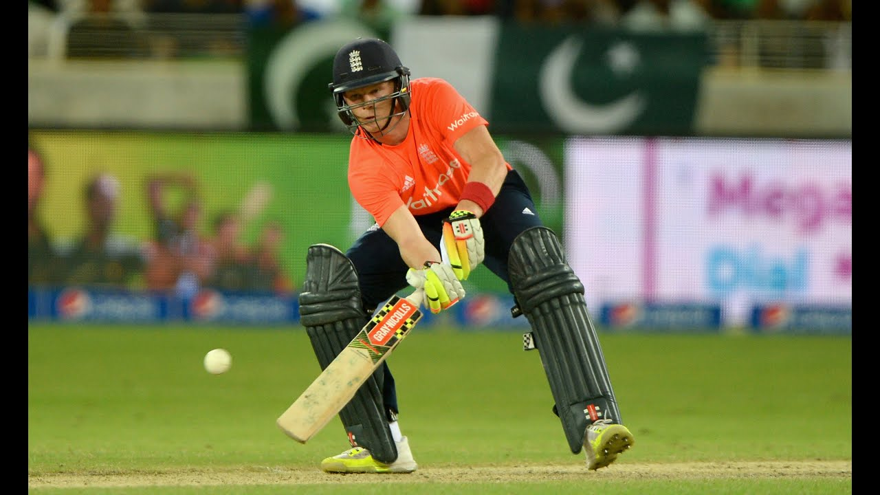 Grinning Sam Billings after maiden 50 in England win