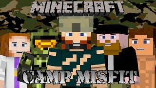 Minecraft SMP | Camp Misfit | #14 MEN OF STEEL