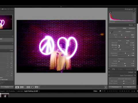 Light Painting Tutorial Video - Fun with Photography