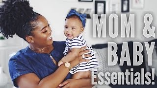 Our Top 10 Mom & Baby Essentials!