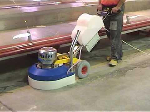 Hercules530 New Floor Grinding Machines Youtube