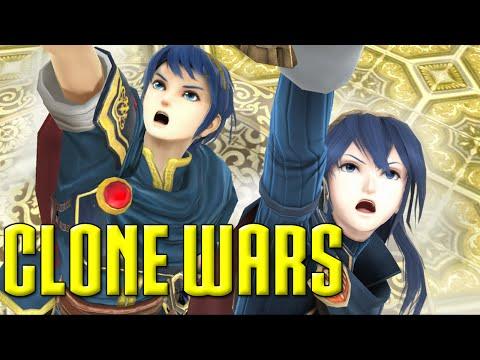 Clone Wars: Marth VS. Lucina (The Differences)