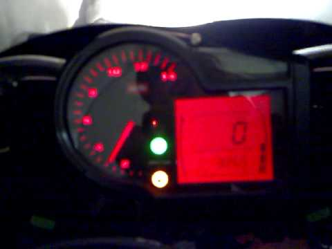 Aprilia RS 125 MY09 - RIPO - LED apertura RAVE