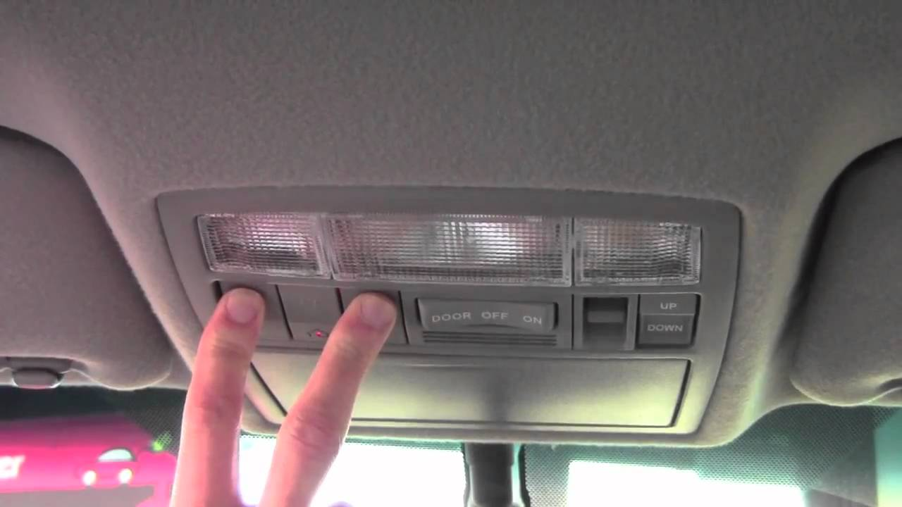 2011 Toyota Camry Homelink How To By Toyota City