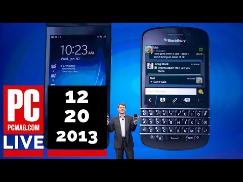 PCMag Live 12/20/13: BlackBerry's $4.4 Billion Loss & Tabs Return to Yahoo Mail