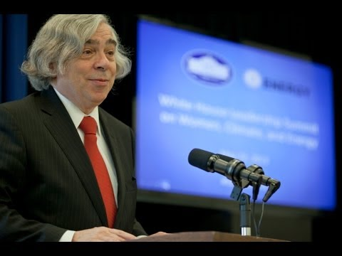 Secretary Moniz at White House Women's Leadership Summit on Climate and Energy