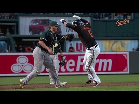 Benches clear after Donaldson tags Machado