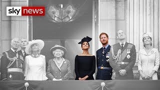 Queen 'disappointed' by Prince Harry and Meghan Markle