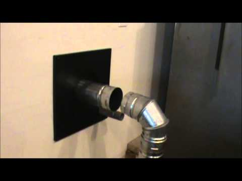 Pellet Stove Installation Part 2