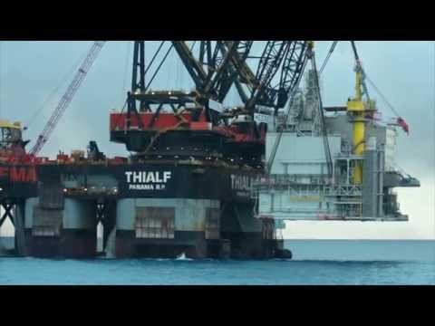 Edvard Grieg offshore topside lift