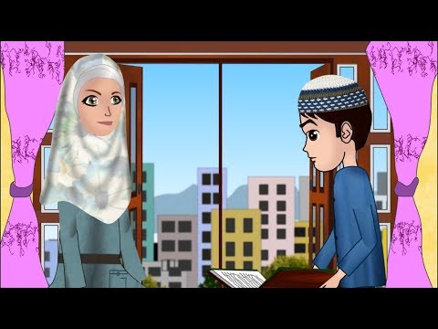 Abdul Bari learning surah Nas Urdu Islamic Cartoons for children