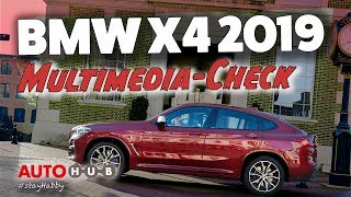 BMW X4 / 2018 / Cockpit und Multimedia-Check