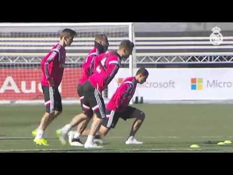 Training session 28/01/2015