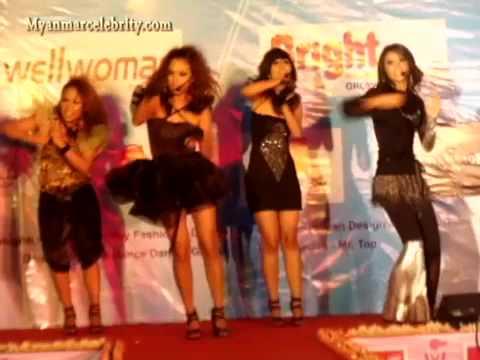 Myanmar Girl Band Tiger