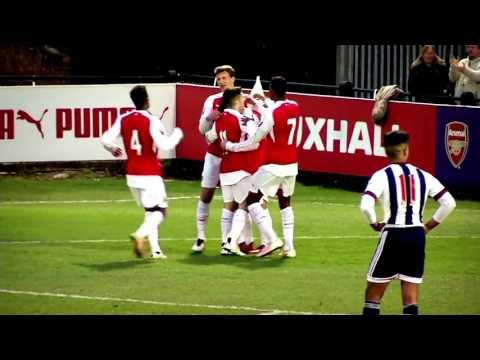 Jack Wilshere vs West Brom U21
