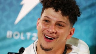 """They're Good Everywhere"" Best of Mahomes SB LIV Media Night Interview"