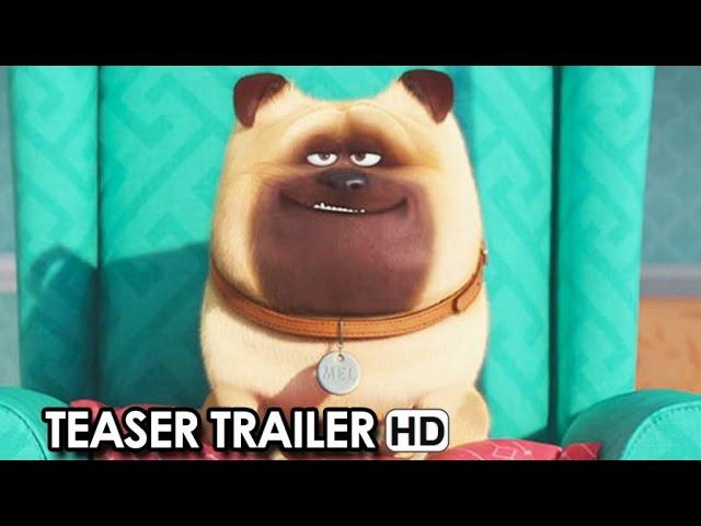 Pets - Vita da animali Teaser Trailer Italiano (2016) HD