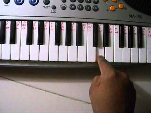 SHIRDI WALE SAI BABA SONG TUTORIAL ON PIANO