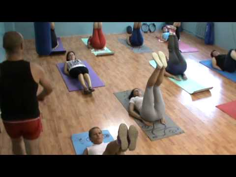 Aerobic Cu Razvan Marasescu- Exercitii La Sol video