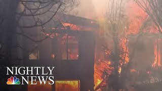Thomas Fire third largest in California history   NBC Nightly News