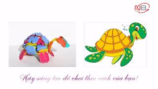 Bộ đồ chơi ghép hình cho trẻ em phát triển trí thông minh, sáng tạo - MICLIK