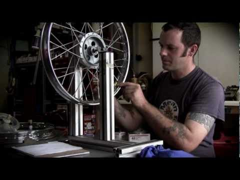The Fine Art of Lacing motorcycle wheels