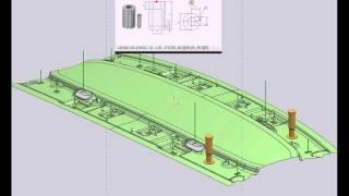 TC 9 & NX8 - Body Stamping - Die Structure Design-Pierce Insert - Part7