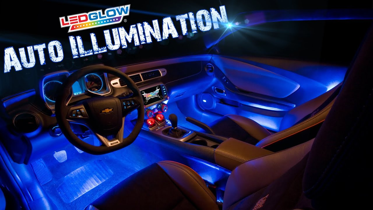 ledglow 39 s auto illumination youtube. Black Bedroom Furniture Sets. Home Design Ideas