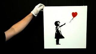 Banksy artwork self destructs