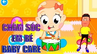Chăm sóc em bé cùng anh Lee | Trò chơi chăm sóc em bé | Game Baby Care | Education Game