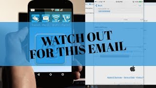 Apple Email Phishing Scam (It's not from Apple) - Best Trick to Avoid Falling For It