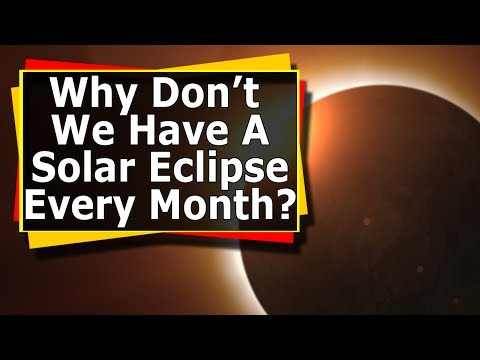 Why Don't We Have A Solar Eclipse Every Month? 60 Second Space