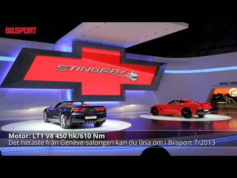 Corvette Stingray Cabriolet V8 LT1 450 hk!