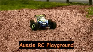 First Running video of Thunder Tiger ST4 G3 4WD Brushless Truggy