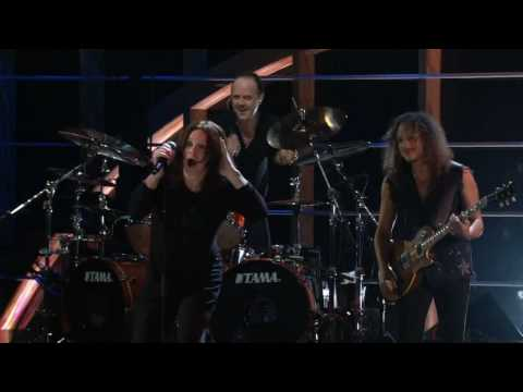 Metallica&Ozzy Osbourne-Iron Man&Paranoid-The 25th.Anniversary Rock And Roll Hall Of Fame 2009 HD Music Videos