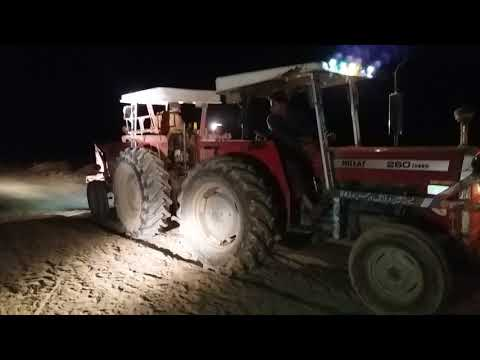 MF 260 VS MF 375 Tractor touchan in Punjab