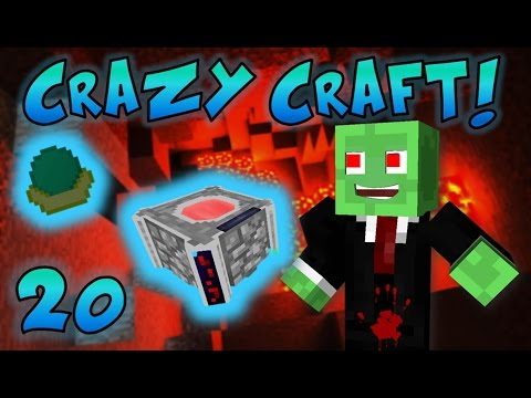 Minecraft: Crazy Craft Ep. 20 - BLOOD MAGIC MOD!