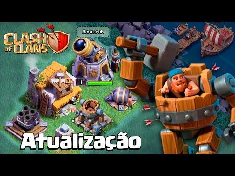 NOVO MODO NOITE E TUDO SOBRE A ATUALIZAÇÃO DO CLASH OF CLANS! thumbnail