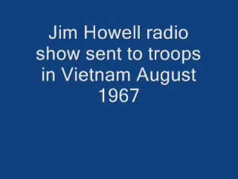 Jim Howell radio show sent to Vietnam August 1967