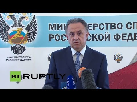 LIVE: Russian Sports Minister Mutko to give a statement CAS decision to uphold Rio ban