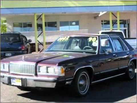 1990 mercury grand marquis colorado springs co youtube for Colorado springs motor vehicle registration