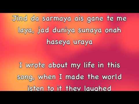 Soniye Falak Lyrics & Translation