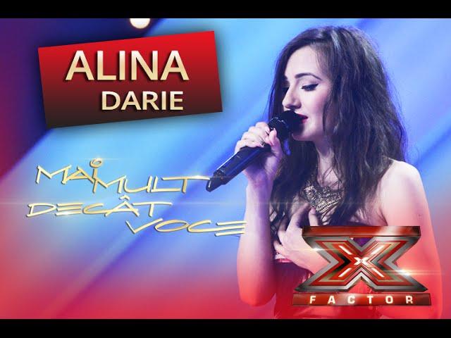 """Beyonce - """"If I were a boy"""". Vezi aici cum cântă Alina Teodora Darie la X Factor"""