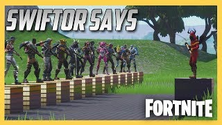 Swiftor Says in Fortnite Creative #2! New Map, No Escape.