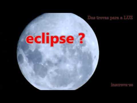 Eclipse lunar explicado - Flat Earth