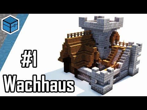 Minecraft Wachhaus bauen | Minecraft kleine Burg bauen deutsch | Teil 1/2