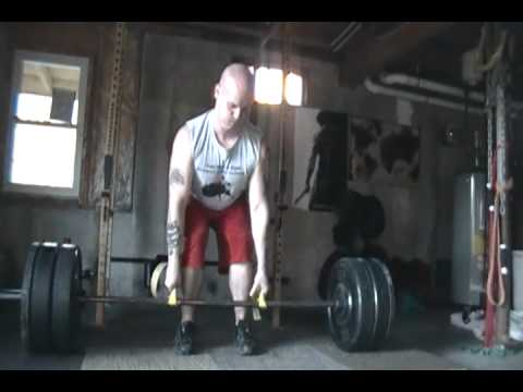 0 Chris Vaughn: 315 Pound Strap Dead Lift