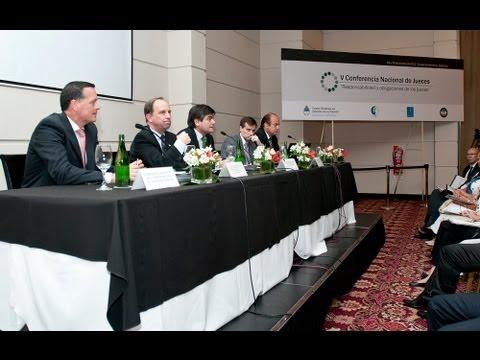 Quinta Conferencia Nacional de Jueces: Informe sobre pol�ticas de gesti�n e inform�tica